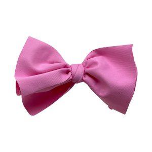 lazo pelo niña lycra rosa