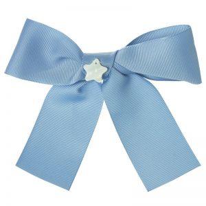 lazo azul niña estrella