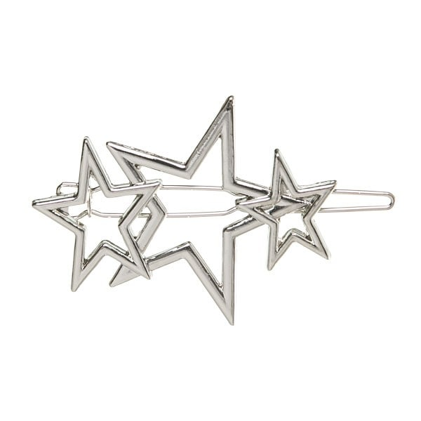 horquilla estrellas plata