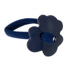 accesorios de pelo azul marino para niñas