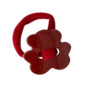 accesorios de pelo para niñas de color burdeos