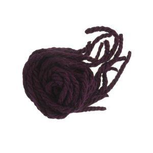 cordones lana burdeos