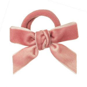 lazo rosa terciopelo