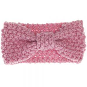 turbante rosa bebe