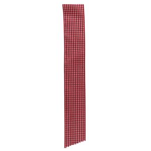 cinta vichy rojo
