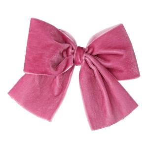 lazo terciopelo rosa