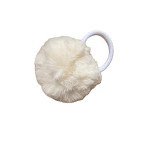 coletero pompon blanco