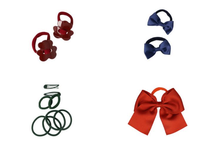 accesorios pelo para el colegio