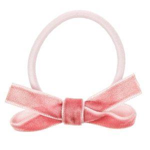 goma de pelo terciopelo rosa franci