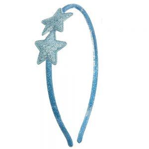 diadema estrellas azul