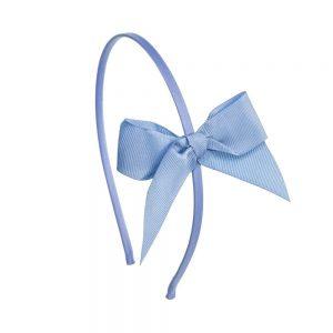 diadema pelo niñas azul francia
